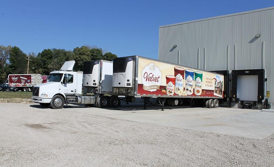 A exigente distribuição de sorvetes